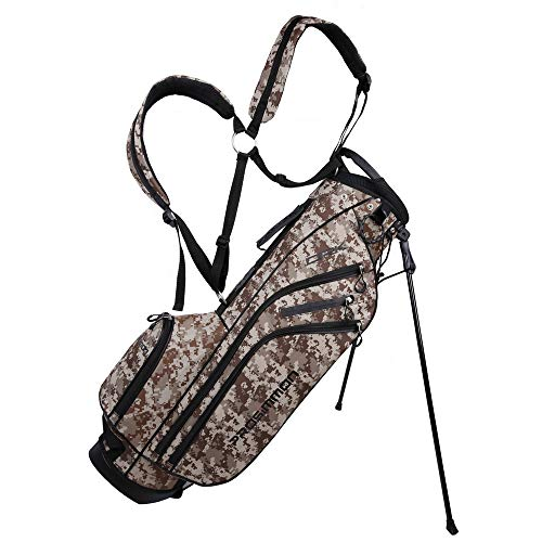 PROSiMMON Golf DRK 7' Lightweight Golf Stand Bag with Dual Straps Camo